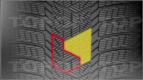 Блоки рисунка протектора шин Pirelli Scorpion Winter